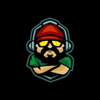 Про геймер аватар логотип