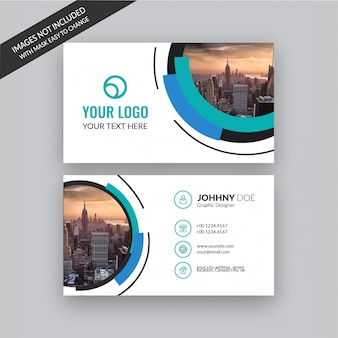 Креативный дизайн визитки