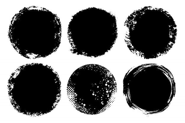 Ручная роспись кругов для фонов