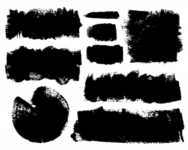 手描きのブラシストロークのベクトルを設定します。
