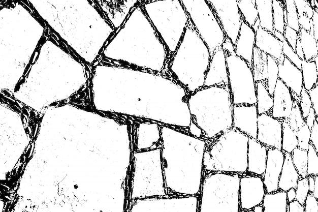 Проблемные текстуры наложения шероховатой поверхности, сухой почвы, трещины земли. гранж фон