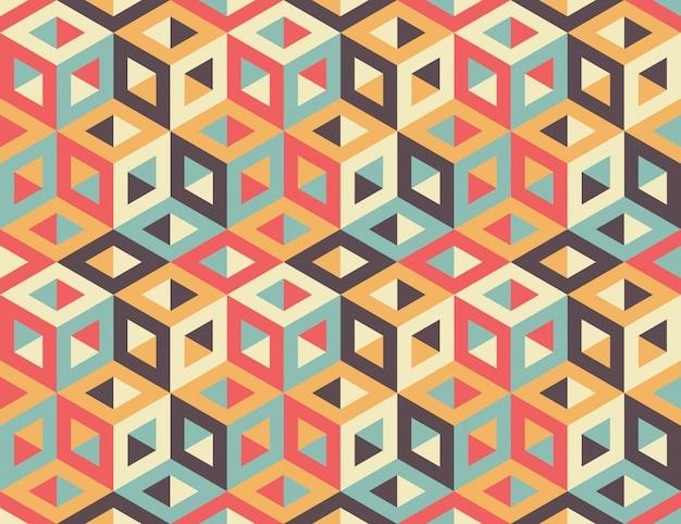 シームレスな幾何学模様