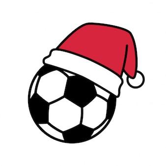 サッカーボールサッカークリスマス