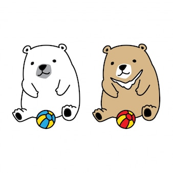 Медведь полярный шар