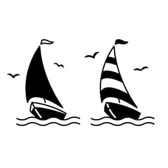 Иконка лодка