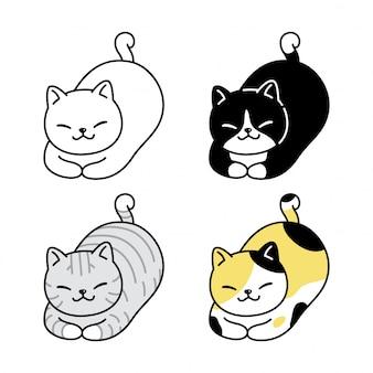 猫子猫三毛猫漫画
