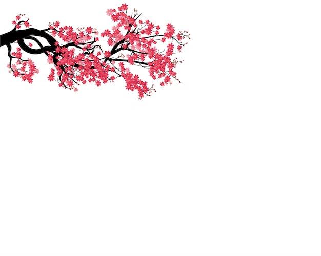水彩桜フレーム