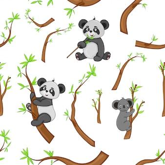 パンダ模様