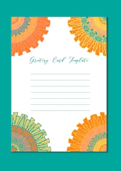 マンダラオリエンタル書き込み空白カード