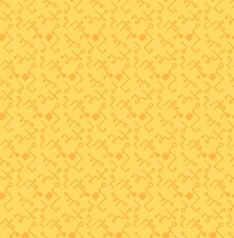 コンピュータープロセッサチップのシームレスパターン
