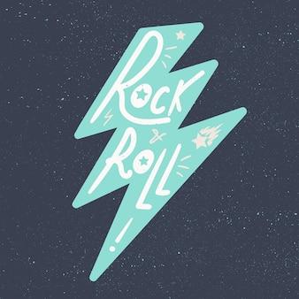 Наклейки на рок-н-ролл