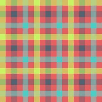 タータン多色シームレスパターン