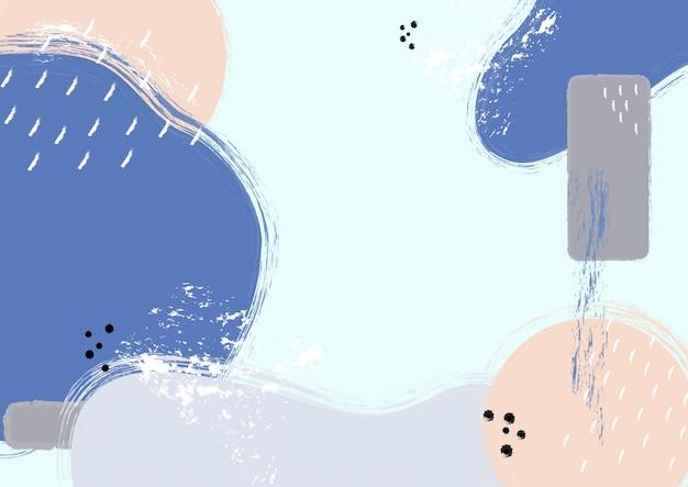 メンフィススタイルの青とピンクの背景