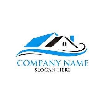 Дизайн логотипа недвижимости