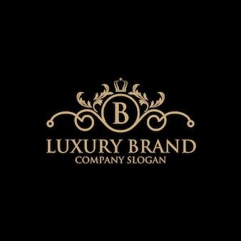 Шаблон роскошного логотипа