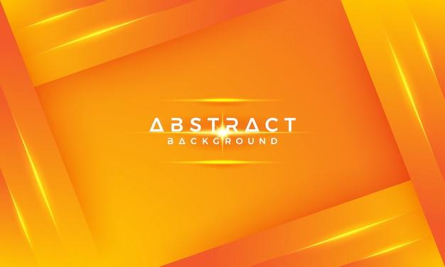 黄色とオレンジの混合物と現代の幾何学的な背景。
