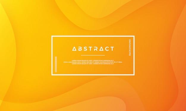 現代の抽象的なオレンジのベクトルの背景。