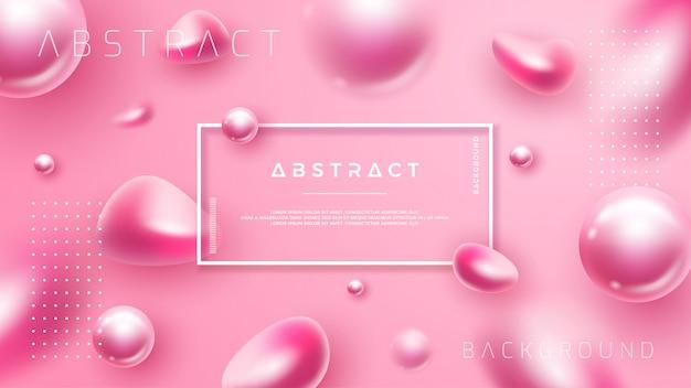 Розовый фон для косметических плакатов или других.