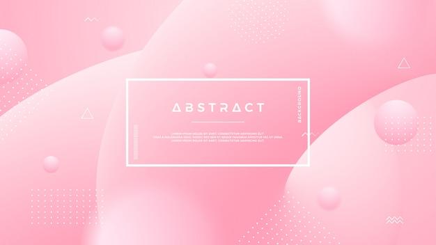 Светло-розовый абстрактный фон жидкости.