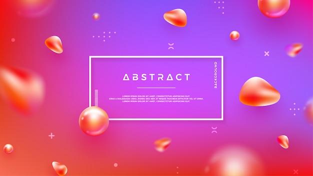 Абстрактный фон с смешиванием цветов