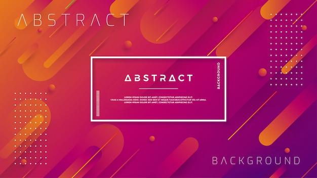 Современные фоны с модной цветовой градацией композиций.