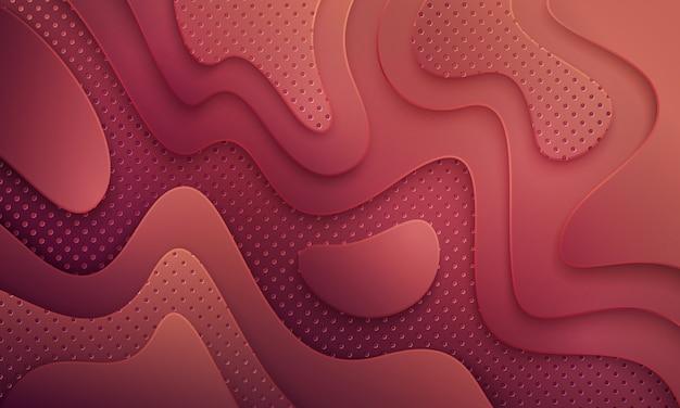 抽象的な背景テクスチャとドットの組み合わせで波状。