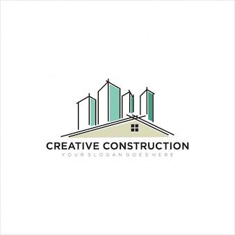 クリエイティブ収縮ロゴ