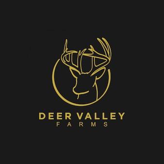 鹿の谷のロゴ