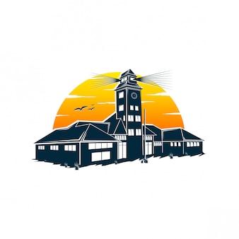 ライトハウスのロゴデザイン