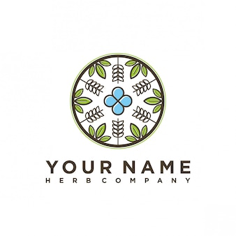 ハーブカンパニーのロゴデザイン