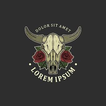 Дизайн черепа оленя