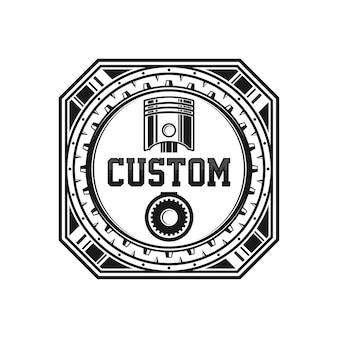 Автомобильный дизайн логотипа