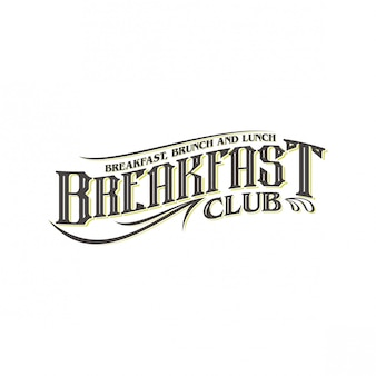 Дизайн логотипа завтрака