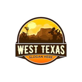 Западный техасский логотип