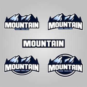 Горные логотипы