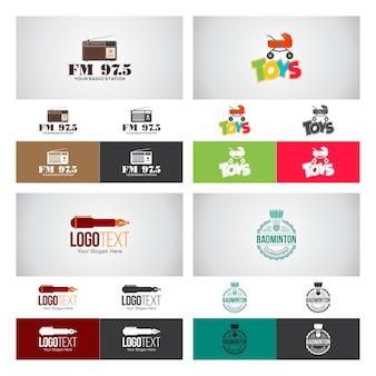 コーポレートロゴデザインセット