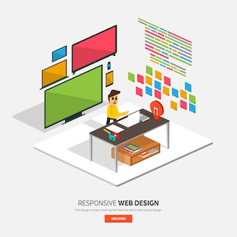 デジタルマーケティングイラスト