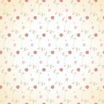 Светло-розовый зеленый букет бесшовный фон