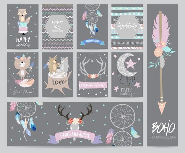 Симпатичные открытки для плакатов