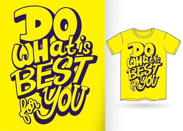 Ручная надпись для футболки