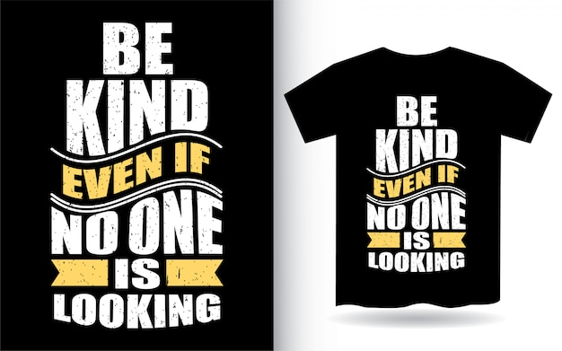 Стильный дизайн одежды футболки с мотивационной типографикой