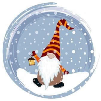 面白いグノーのクリスマスカード