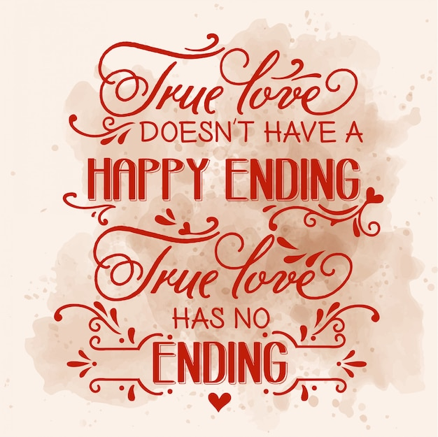 ロマンチックな愛の引用