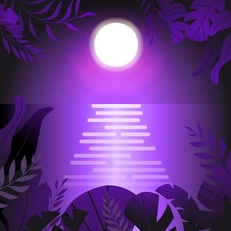 Летняя ночь постер
