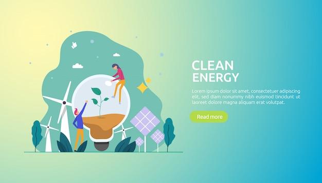 Возобновляемые зеленые источники электроэнергии и чистая окружающая среда