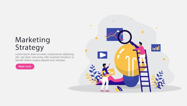 アフィリエイトデジタルマーケティング戦略コンセプト。人格を持つ友人を紹介する
