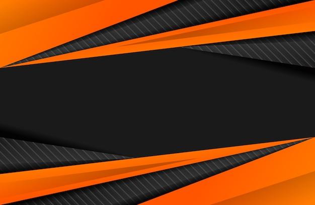 スポーティな抽象的な背景オレンジ