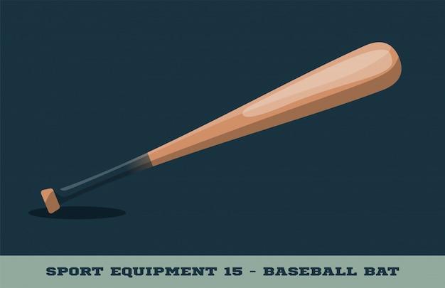 Значок бейсбольной битой