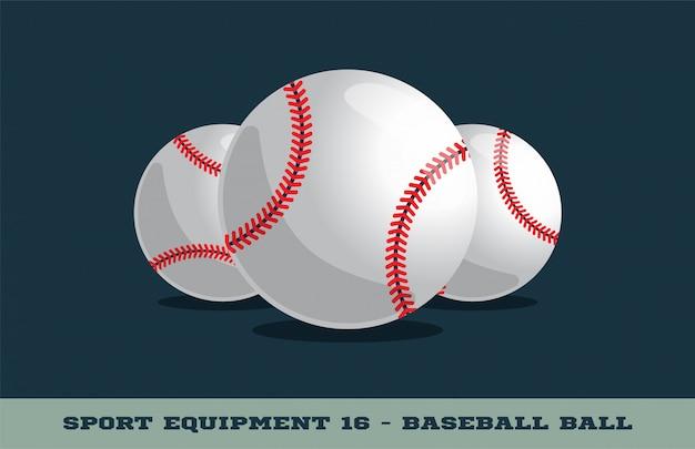 Значок бейсбольный мяч