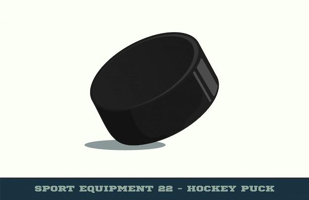 Значок хоккейная шайба